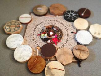Shamanic drum journey